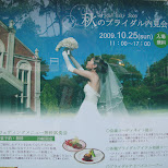 wedding AD in Sasebo, Nagasaki, Japan