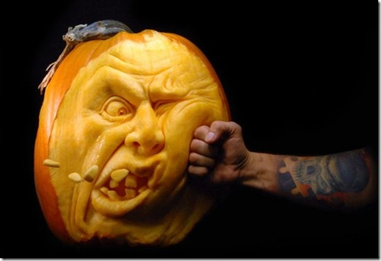 awesome pumpkin carving 1