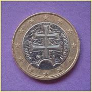 1 Euro Eslovaquia