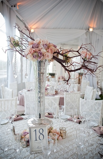 Beautiful-Blooms-Love-Shack-Photo-Cairnwood-Mansion-Hanging-Bling-Centerpiece