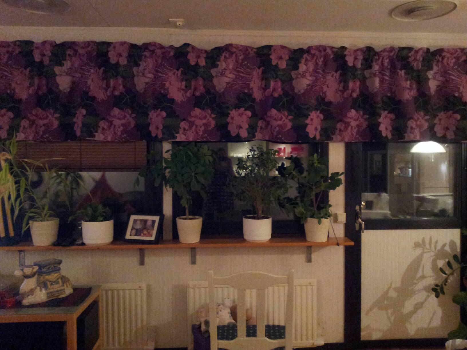 Gardiner Zick Zack : En pysslande tös nya gardiner i vardagsrummet