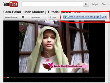 cara download video youtube