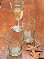 Starfish DOF $13.00 Highball $15.00 Stemmed Glass $18.00