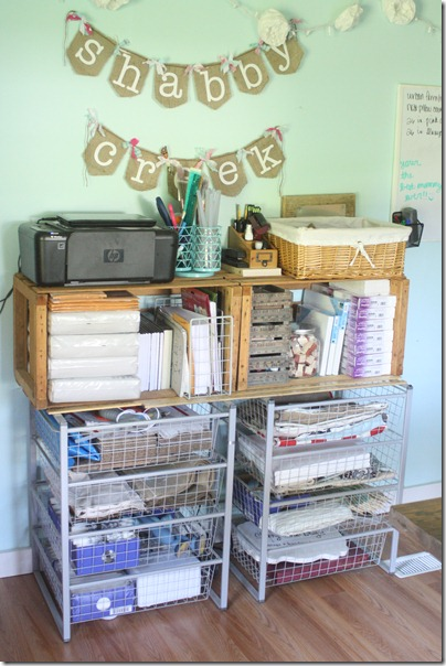 craft studio storage idea