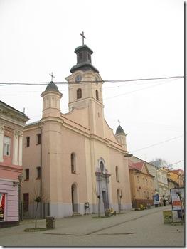 Костел в Ужгороді