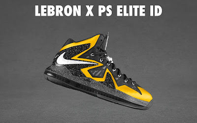 nike lebron 10 ps elite id options preview 1 19 NIKE LEBRON X PS ELITE Coming to Nike iD on April 23rd