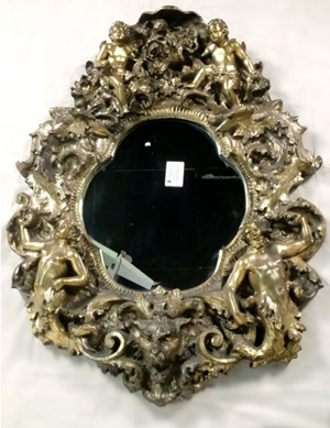 Finesse Originals Cherubs and Gods mirror