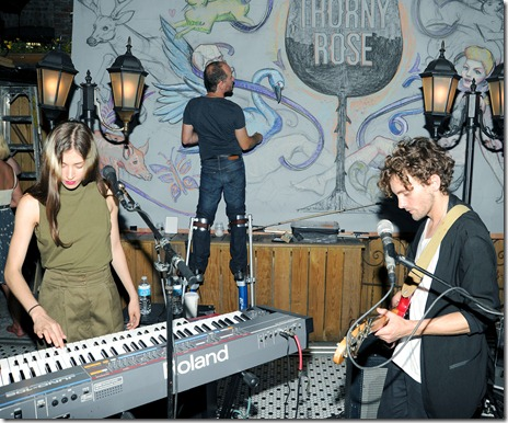 Caroline Polachek, Patrick Wimberly, (Chairlift, Performance), Frank Porcu