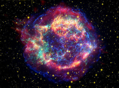 remanescente de supernova Cassiopeia A