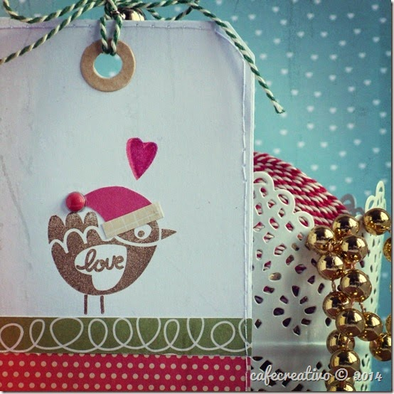cafe creativo - christmas - winter - tag