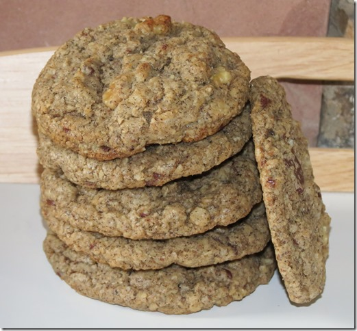 Buckwheat Oat Chocolate Chip Cookies