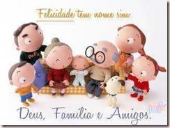 Deus Familia e Amigos