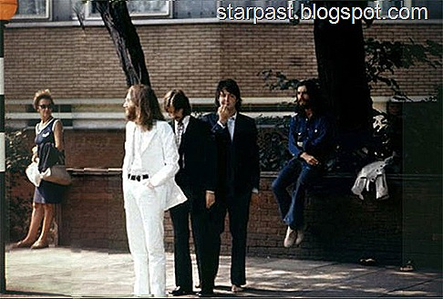 The Beatles' Abbey Road Photo Shoot Outtakes (6)