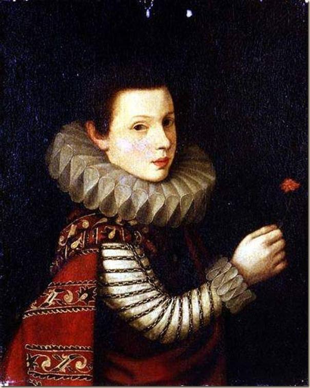Juan Pantoja de la Cruz, Portrait de femme