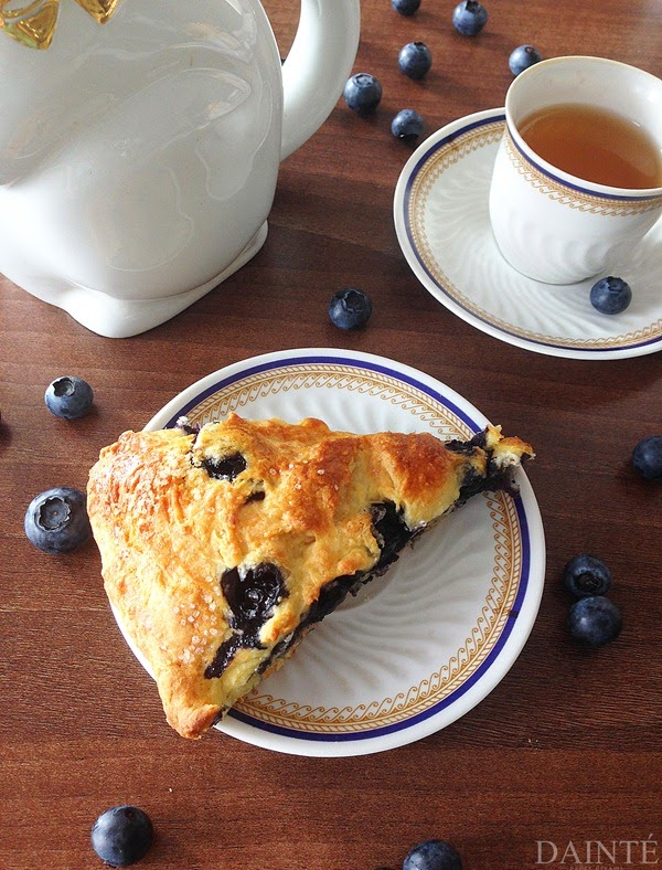 Breakfast Blueberry Brie Scones Food Recipe Dainte Blog Cooking