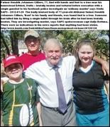 CILLIERS Hendrik Johannes 77 TIED TO TREE TORTURED AND EXECUTED WITH GUNSHOT TO HEAD it is just an ordinary robbery SAPS claims Jan 292012