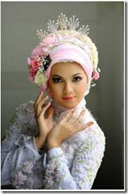 gaya hijab pengantin