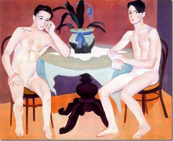 Josep de Togores i Llach -Dos hombres desnudos_ 1931