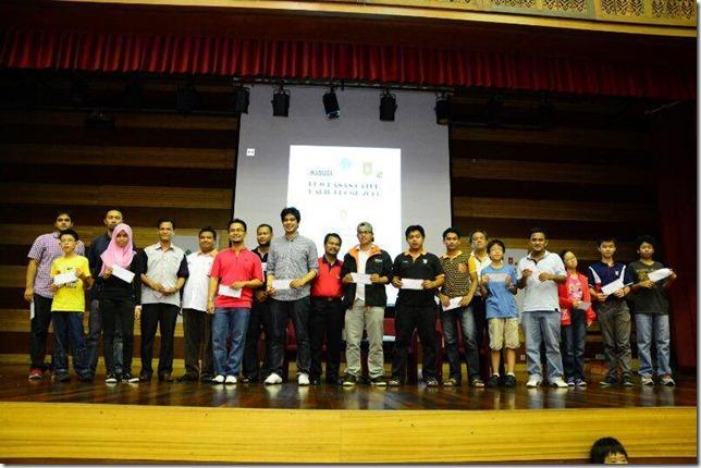 KPCM Winners 2013 Putrajaya