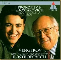 Shostakovich Concierto para violin 1 Vengerov Rostropovich