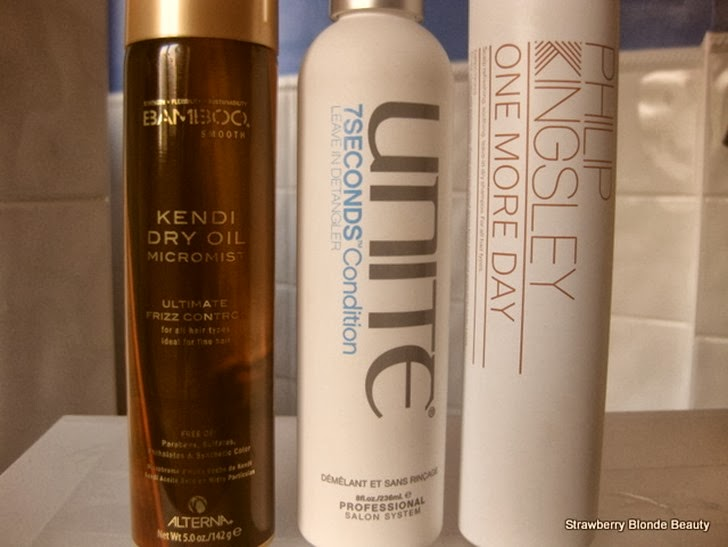Alterna-Kendi-Dry-Oil-Micromist, Unite-7secondsCondition, PhilipKingsley-OneMoreDay-volumising-dry-shampoo