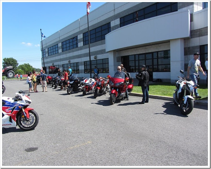 Rock The Red Boucherville - Les motos