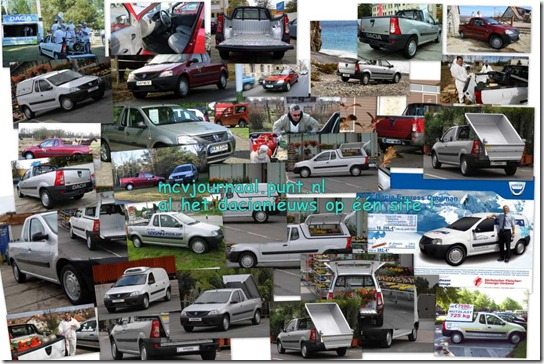 Collage Dacia Pick Up 01
