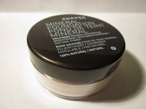 Korres Mineral Foundation Wild Rose Talc-Free Brightening Foundation, SPF 30 ($28.00 for 8.5g)