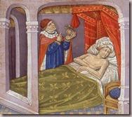 Le médecin au chevet du malade BNF 135