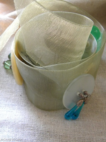 Button Earring Holder via homework | carolynshomework.com