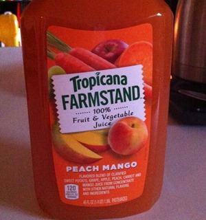 Peach Mango Juice