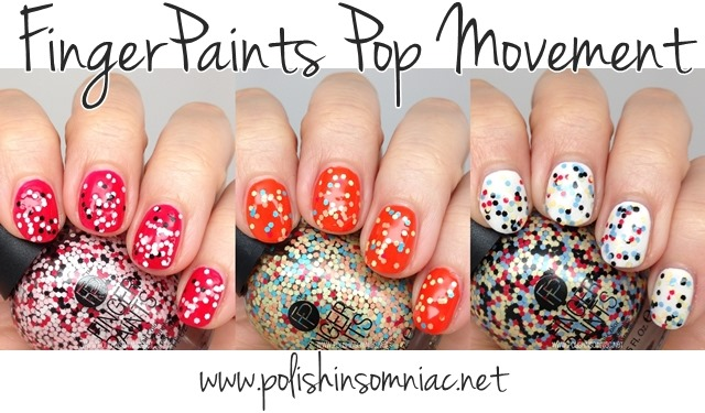 FingerPaints Pop Movement Collection