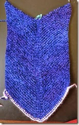 Blue Heron Chenille Cowl