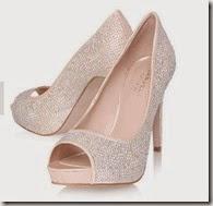 Carvela Peep Toe Sparkle Heels
