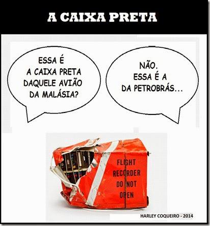 Charge_Harley_Coqueiro_Caixa_Preta_Petrobras