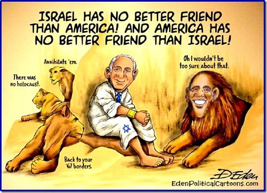 Netanyahu in BHO Lion's Den