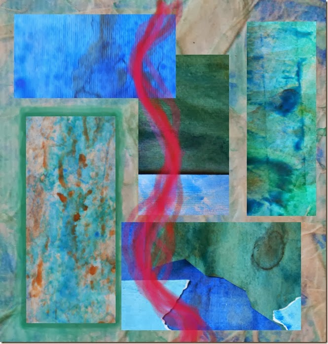 Collage colori