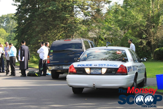 4 Year Child Struck By Vehicle On Roberts Rd (Moshe Lichtenstein) - IMG_5361.JPG