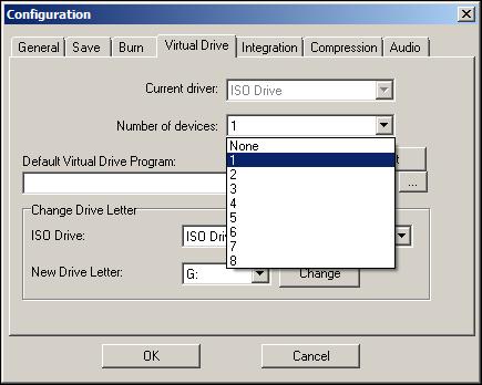 VirtualDrive Config