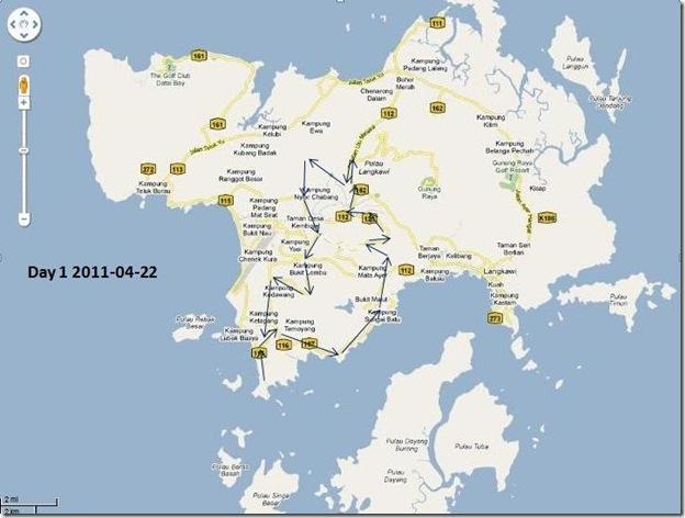 langkawi map 1
