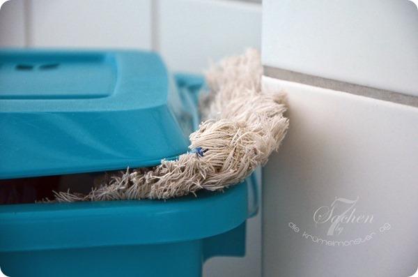 7 von 7 Sachen - Wäschekorb gestopft