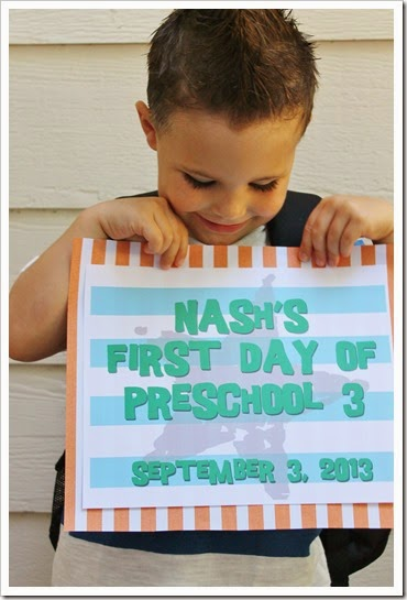 Nash's First Day of Preschool 013