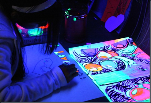 Cool Black Light Rooms