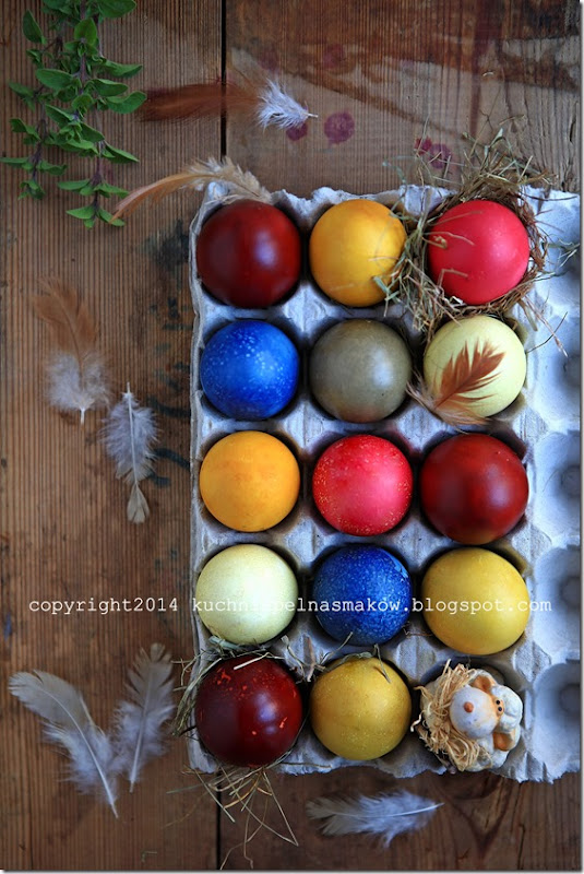jajak malowane naturalnymi barwnikami (1)