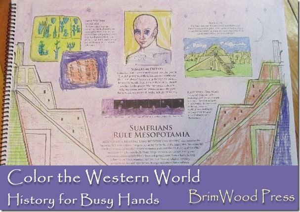 Color the Western World by BrimWood Press