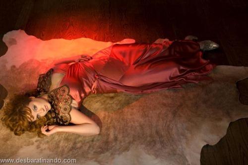 Christina Hendricks linda sensual sexy sedutora decote peito desbaratinando (32)