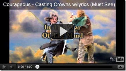 Courageous--Casting Crowns
