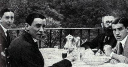 Belmonte con Valle Inclan, Ayala y Miranda 002