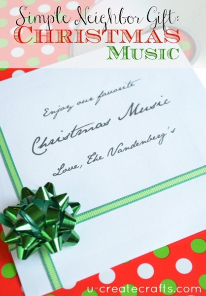 Simple Neighbor Gift Christmas Music