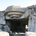 Néville-sur-Mer: vestiges des blockhaus du mur de l'atlantique